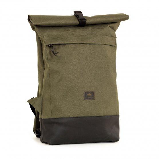 Rucksack – Courier Bag von Freibeutler in Oliv