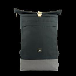 """Freibeutler – Rucksack """"Courier Bag"""" Blau Grau"""