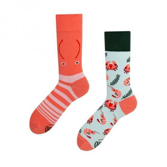 """Frutti di Mare"" Hummer Socken von Many Mornings"
