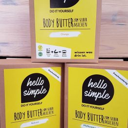 Bodybutter DIY Set von Hello Simple