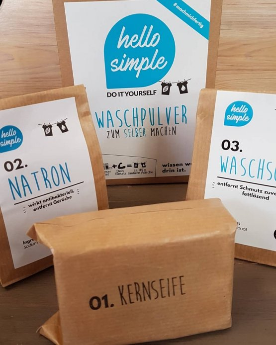 Waschpulver DIY Set von Hello Simple