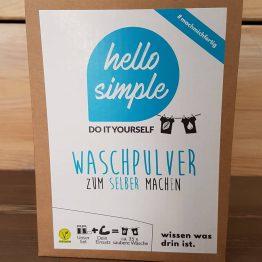 Waschpulver DIY Set von Hello Simple