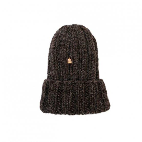 grobstrick mütze anthrazit von myssy