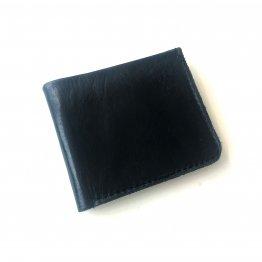 schwarze Herrengeldbörse aus Leder von Icevogel Berlin