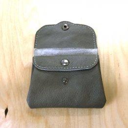 graue Geldbörse aus Leder von Icevogel
