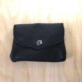 schwarze Geldbörse aus Leder von Icevogel
