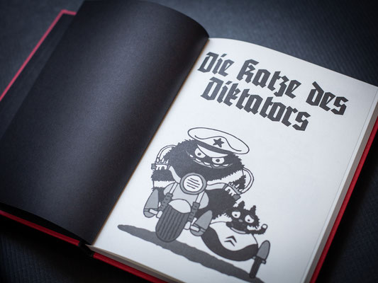 """Comic """"Die Katze des Dikators"""" von Michael Beyer, erschienen im Jaja Verlag"""