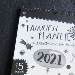 Familienplaner 2021 Wandkalender vom Jaja Verlag für die ganze Familie