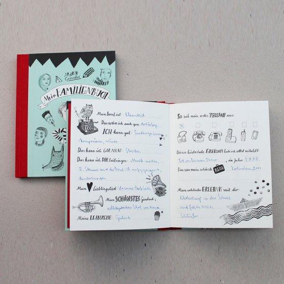 Familienbuch für die Familienchronic und Stammbaum