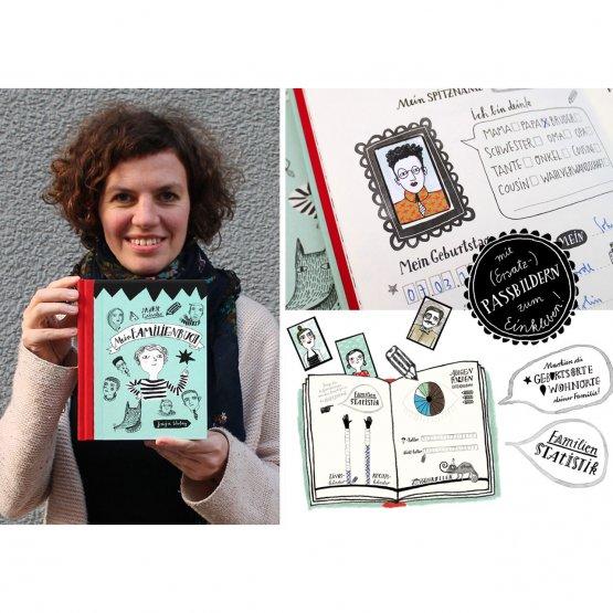 Familienbuch für die Familienchronic und Stammbaum - Bild von der Autorin