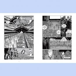 Graphic Novel 1984 nach dem Roman von George Orwell. Erschienen im Knesebeck Verlag