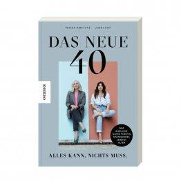 Das neue 40 - Der umfassende Guide für Frauen in der Mitte des Lebens - Buchcover - vom Knesebeck Verlag