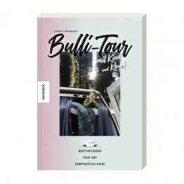 Unterwegs mit dem Bulli und Kind - Buch aus dem Knesebeck Verlag