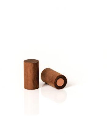 magnetischer Holzpunkt in aus Nussholz