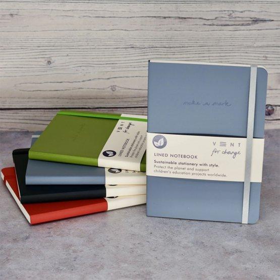 Make A Mark recyceltes Notizbuch