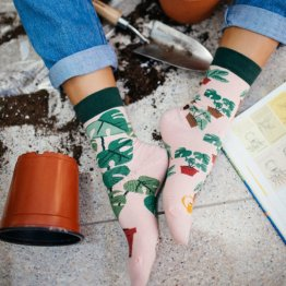 """Plant Lover"" Pflanzen Socken von Many Mornings"