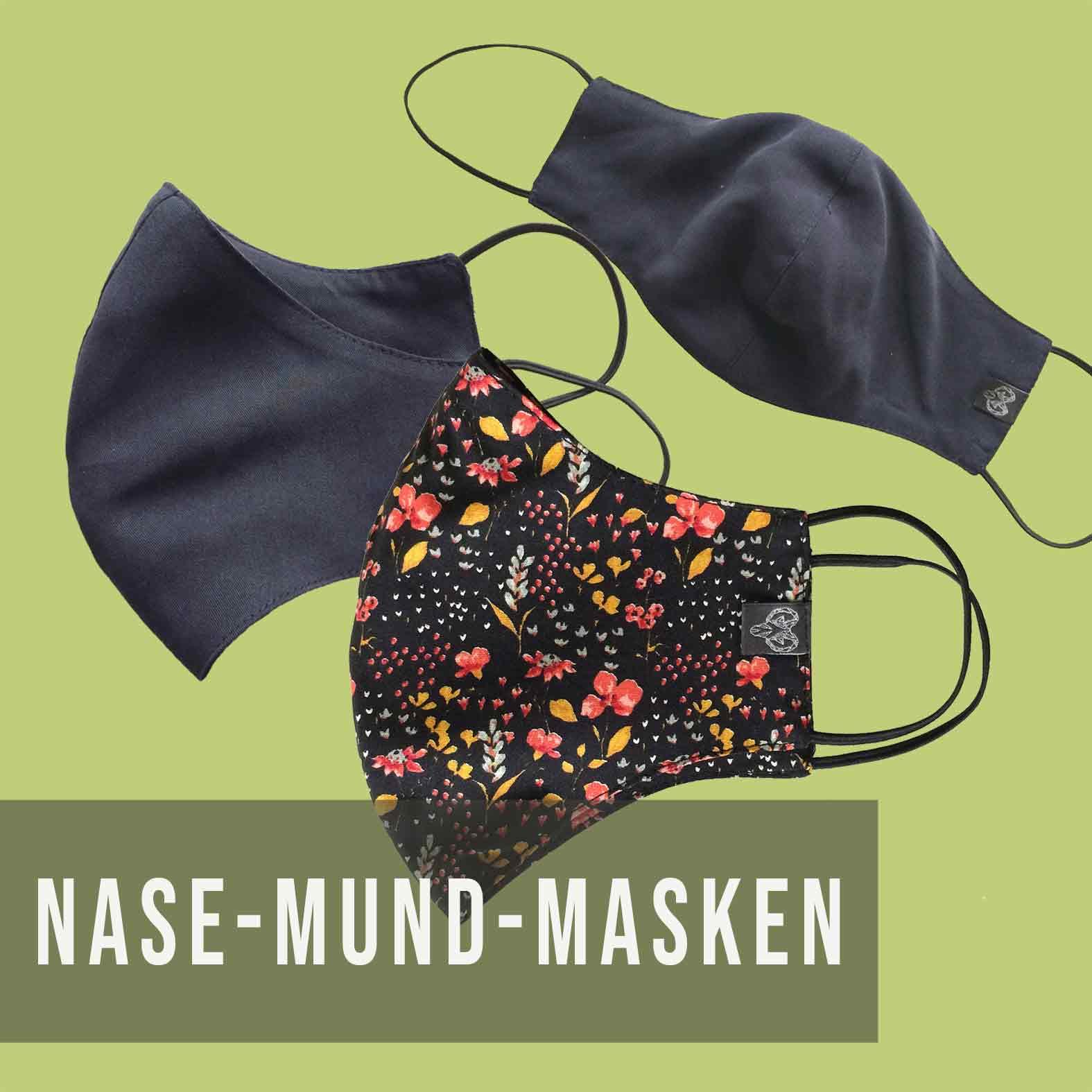 Nase Mund Masken