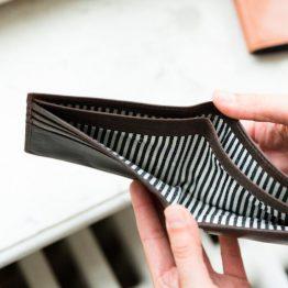 schwarze Geldbörse Herren-Portemonnaie von O my Bag