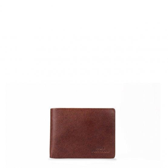 """rotbraune Geldbörse """"Joshua's Wallet"""" von O my Bag – Herren Portemonnaie in Brandy"""