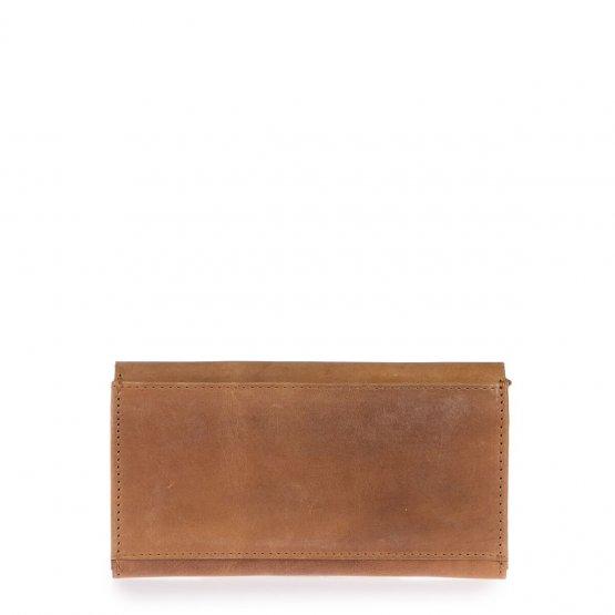 """große Geldbörse aus hellbraunem Leder """"Pixie's Pouch"""" von O my Bag"""