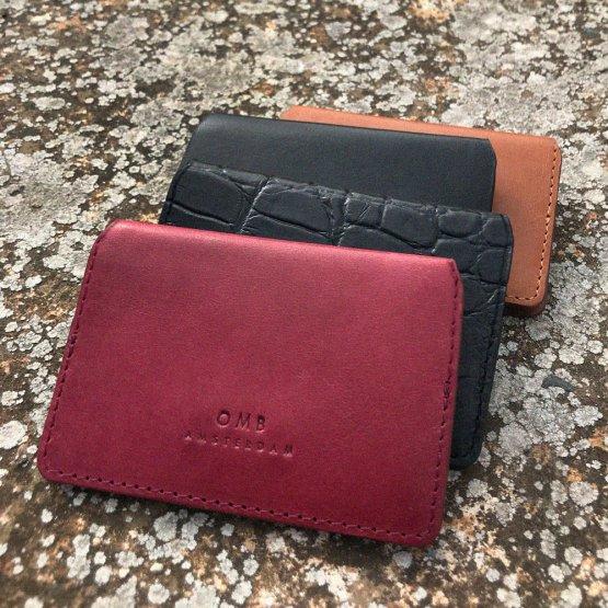 Cassie's Cardcase - aufklappbares Kartenetui aus Eco-Leder von O My Bag