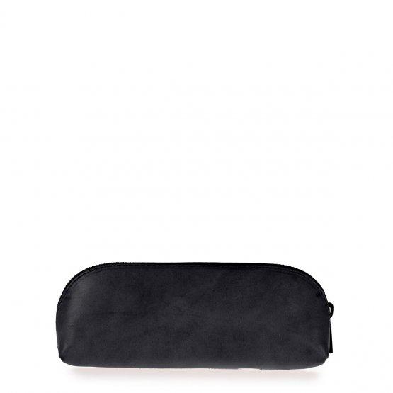 schwarze Federtasche aus Leder von O my Bag