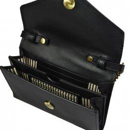 schwarze Handtasche Josephine von O My Bag - Innenansicht