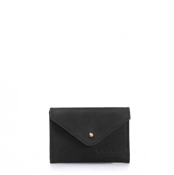 """schwarze kleine Ledergeldbörse """"Josie's Purse"""" von O my Bag"""