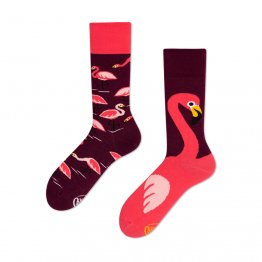 """Pink Flamingo"" Socken mit Flamingos von Many Mornings"