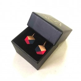 schwarze Geschenkbox für Schmuck in zwei Größen