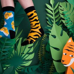 "Mismatched Socken ""Tiger"" von Sammy Icon"