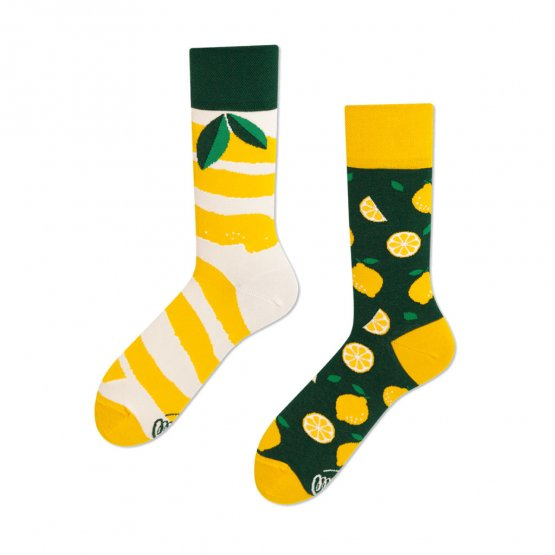 """The Lemons"" Socken mit Zitronen von Many Mornings"