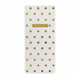 "Notizblock To-Do Liste ""Polka Dots"" von Go Stationary"