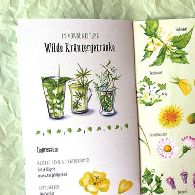 Wilde Kräuterküche - Buch mit Wildkräuterrezepten für jeden Tag